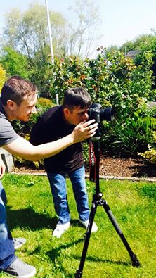 Ciaran Filming