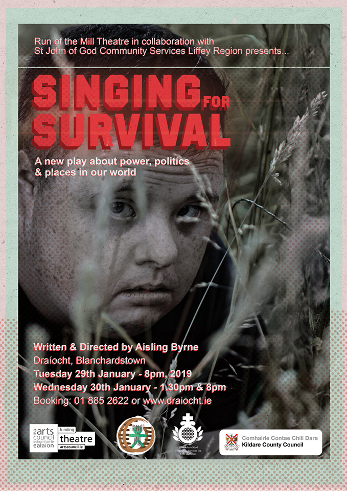 Singing for Survival Poster 2019
